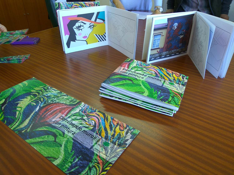 Editamos Un Cuaderno De Dibujo Para Colorear Los Murales De